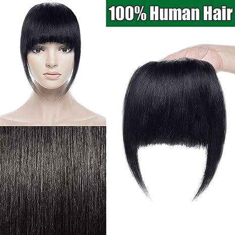 Frange Extension a Clip Cheveux Naturel Postiche
