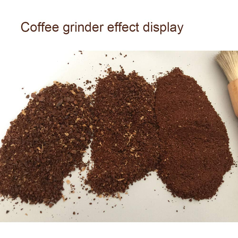 Manual Coffee Grinder, Stainless Steel Hand grinder, Triangle shape with burr coffee grinder, Suitable for French Press, Turkish,Hand-held Mini, K Cup, Family&Travel. by LetGoShop (Image #6)