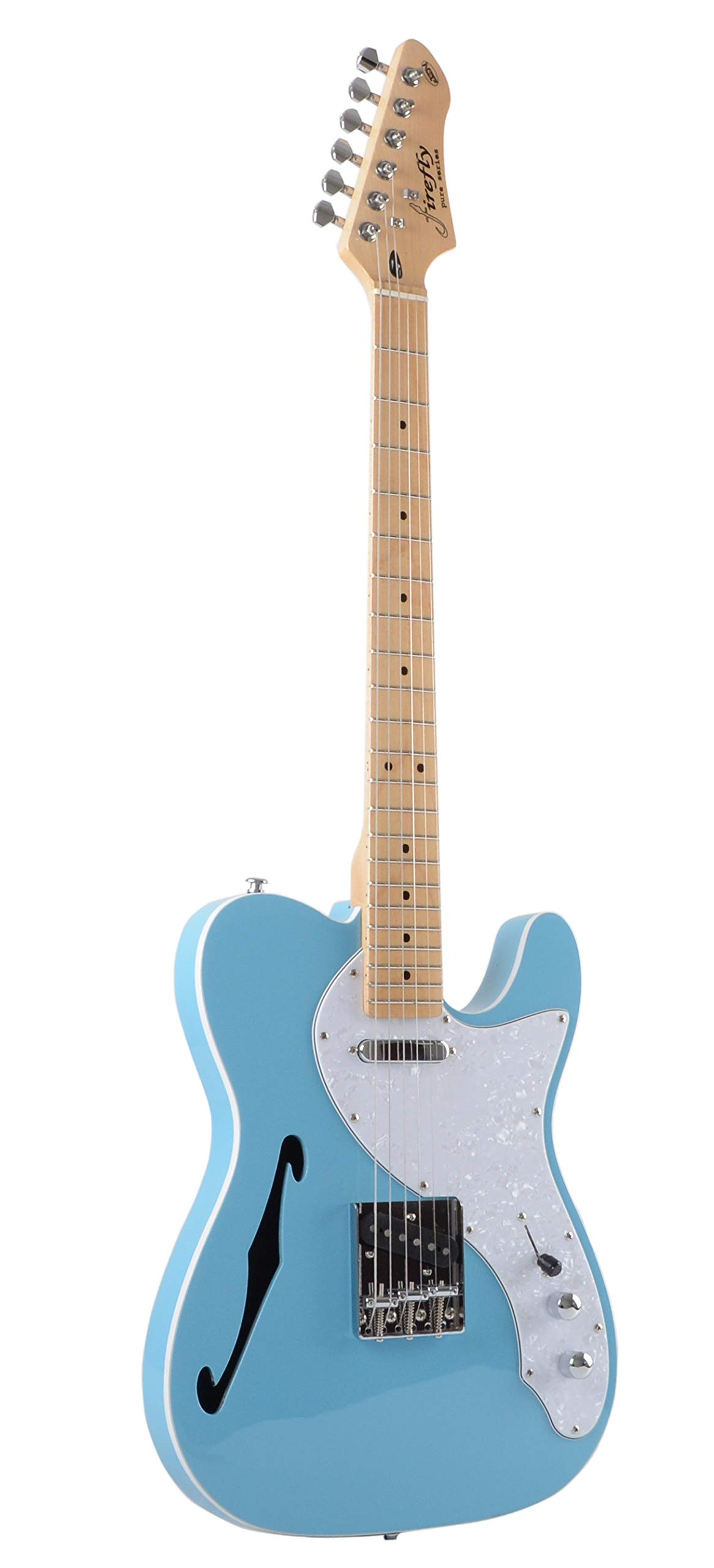 Firefly FFTH Semi-Hollow body Guitar (Blue Color) by Firefly