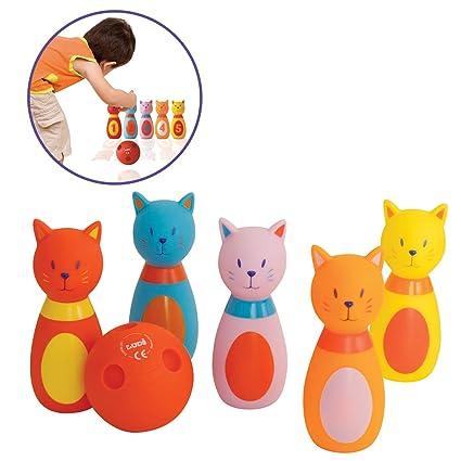Top toys 599386031 - Juego de Bolos Gato ludi
