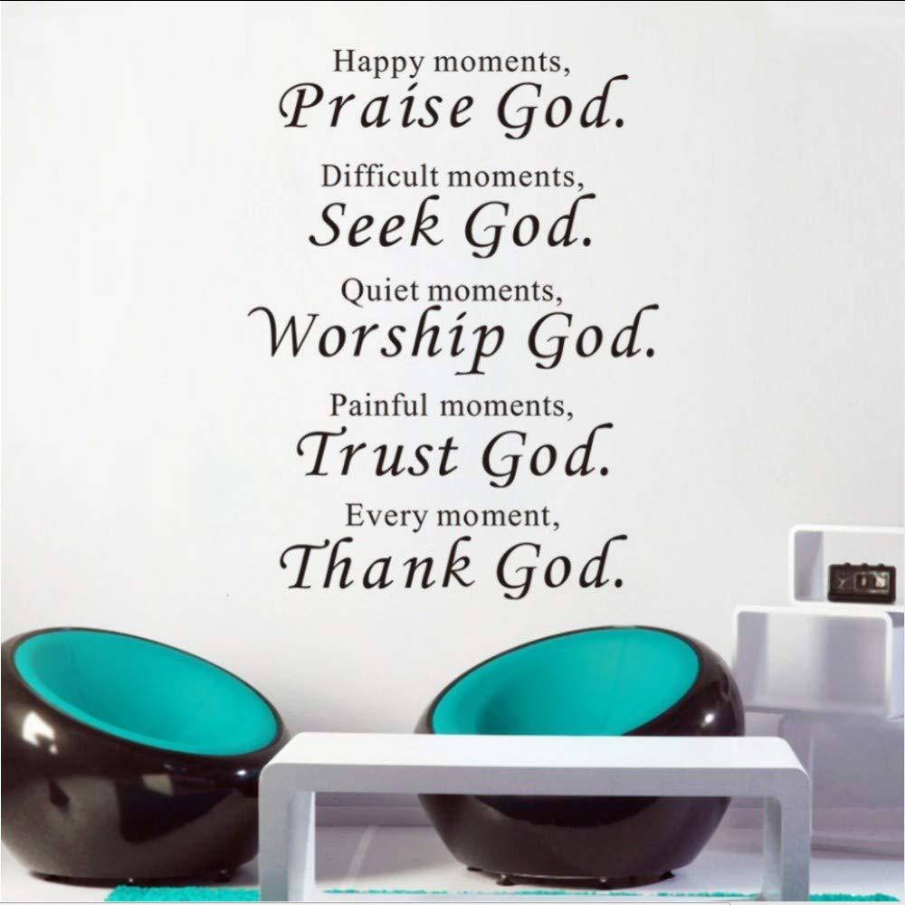 com sdefw bible wall stickers home decor praise seek
