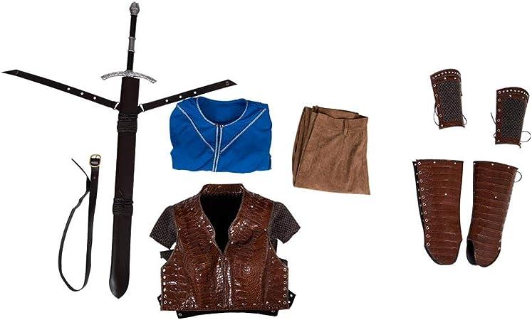Bilicos Viking Queen Lagertha Traje de Cosplay Disfraz Hombres Caballeros XS: Amazon.es: Juguetes y juegos