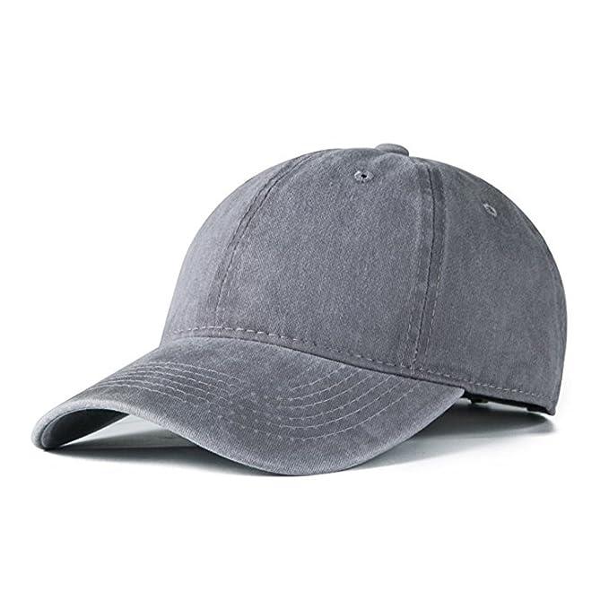 iHomey Sombrero de papá Ajustable con Gorra de béisbol clásica para Mujeres  y Hombres  Amazon.es  Ropa y accesorios 88d3881a25c