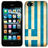 Apple iPhone 5  and  5S Greek Vintage Flag Phone Case Cover