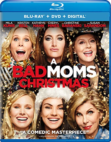 Blu-ray : A Bad Moms Christmas (With DVD, 2 Pack, Digitally Mastered in HD, 2 Disc)