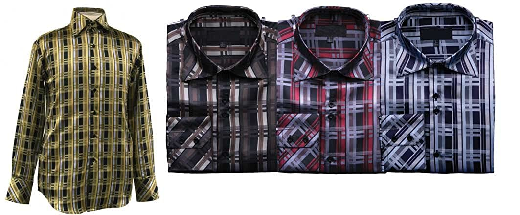 Mens Bold Check Shirt