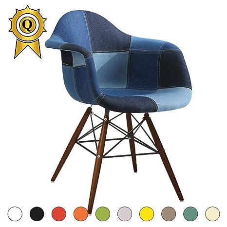 Promo 1 x silla Design Inspiration Eiffel patas madera haya ...