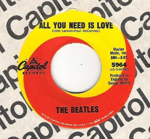 Beatles - All You Need Is Love - Zortam Music