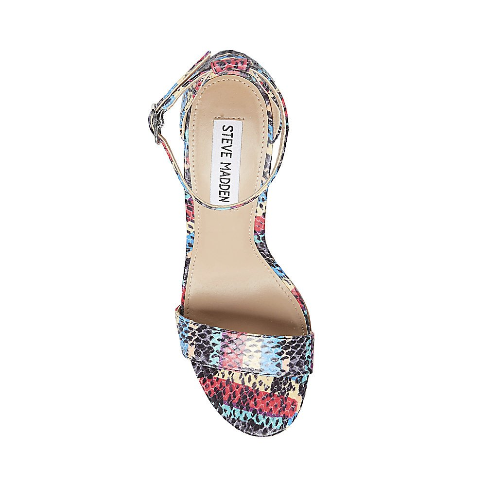 Steve Madden Women's Carrson Dress Sandal B078YH85VN 10 B(M) US|Rainbow Multi