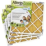 AllergyZone Allergen-Trapping Central Heating and Airconditioning Filters 4-pack (twelve-month supply)