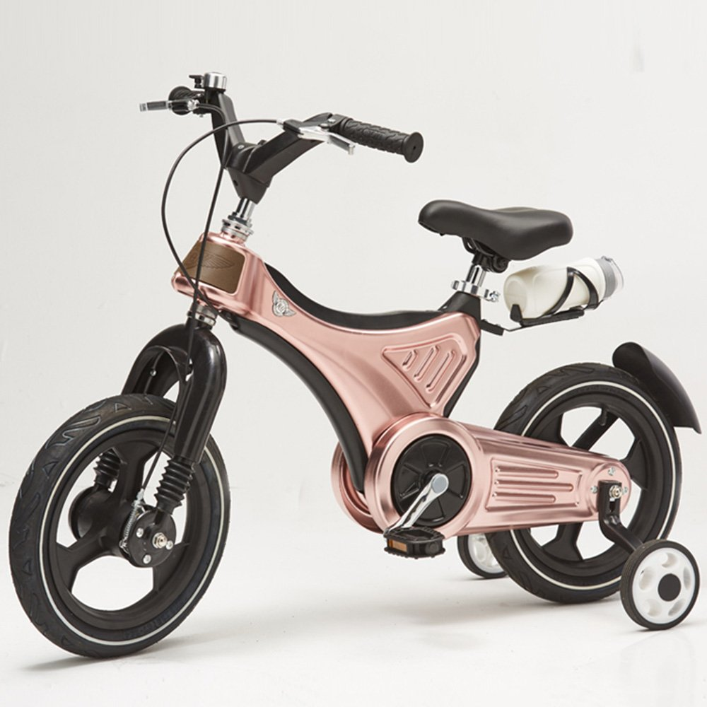 HAIZHEN マウンテンバイク 子供の自転車キッズ自転車3~7歳のための取り外し可能なスタビライザーでダッシュ 新生児 B07C6RK9F9 14Inch|金属 きんぞく 金属 きんぞく 14Inch