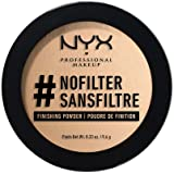 Nyx Professional Makeup Nofilter Finishing Powder, Medium Olive, 9.6g