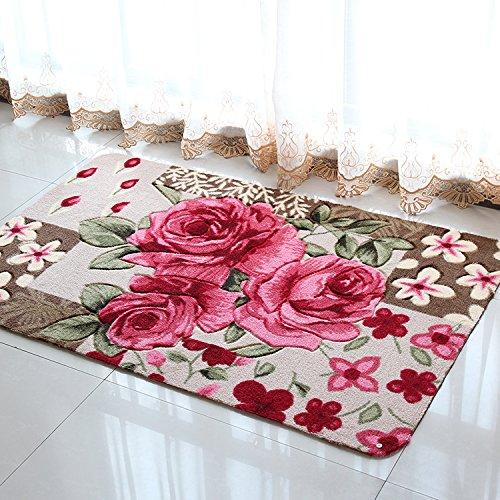 Diaidi 1 Rose Carpet Floor Mat Handmade Rug Anti Slip Modern Carpet Kitchen  Area Rugs,rose Shaped Rugs   Buy Online In UAE. | Products In The UAE   See  ...