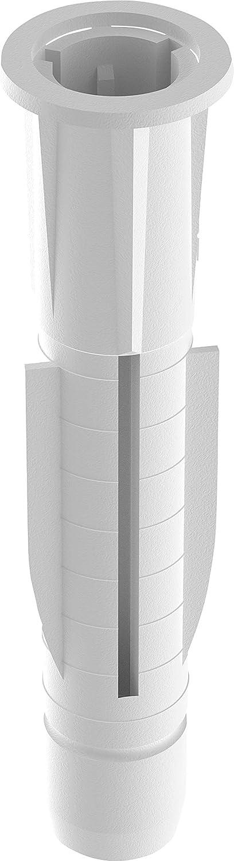 Caja de 100 Taco universal de 6 x 36 mm Tox TRIKA
