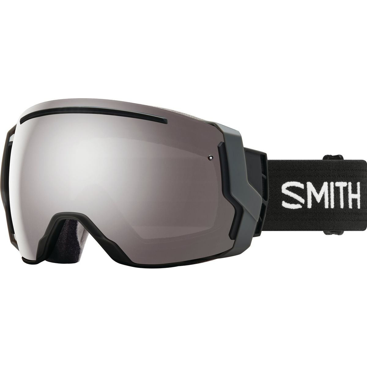 Smith Optics Adult I/O 7 Snow Goggles Black / ChromaPop Sun Platinum Mirror by Smith Optics