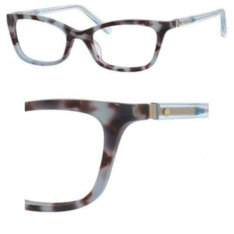 Eyeglasses Kate Spade Delacy 0RRS Blue Havana
