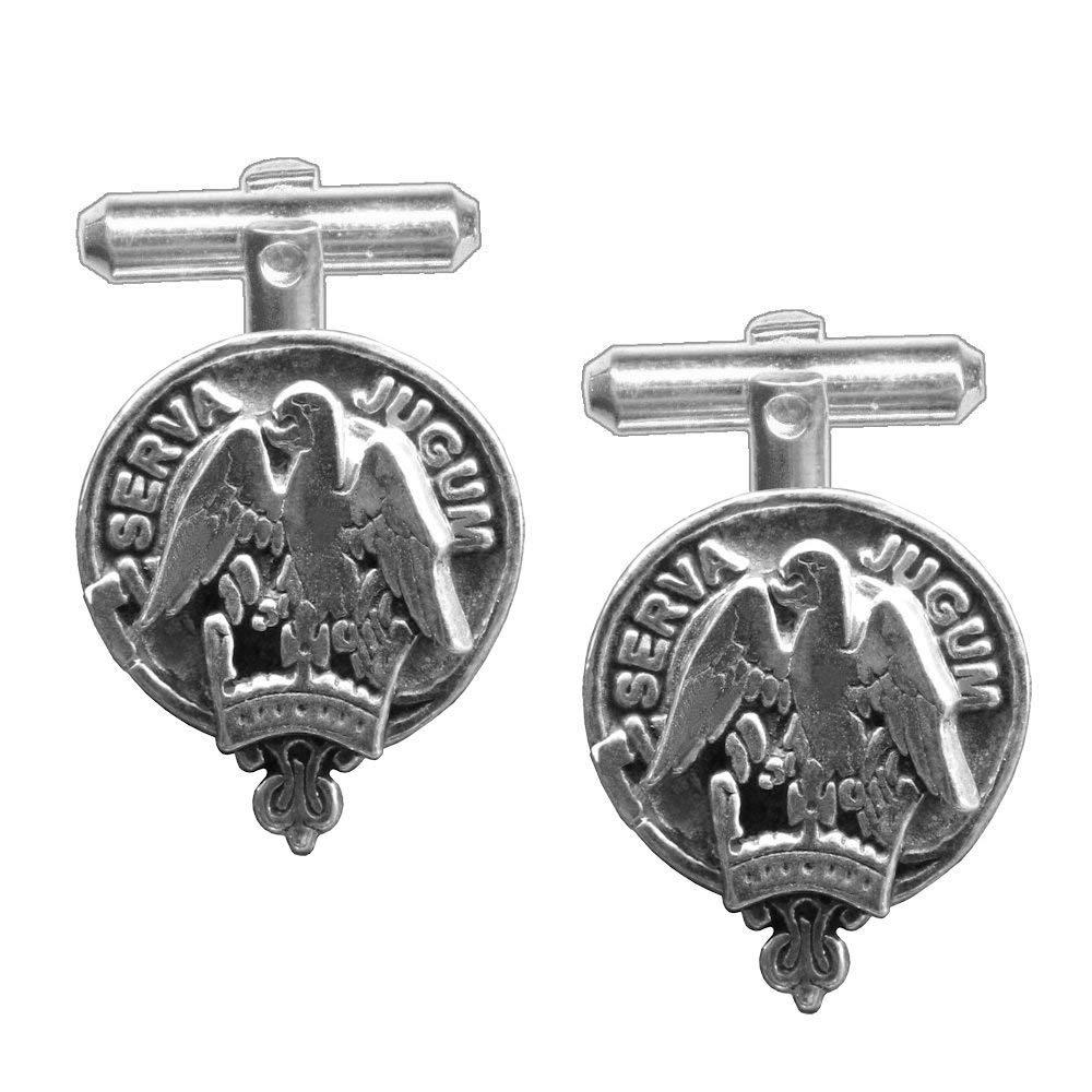 Hay Scottish Clan Crest Cufflinks