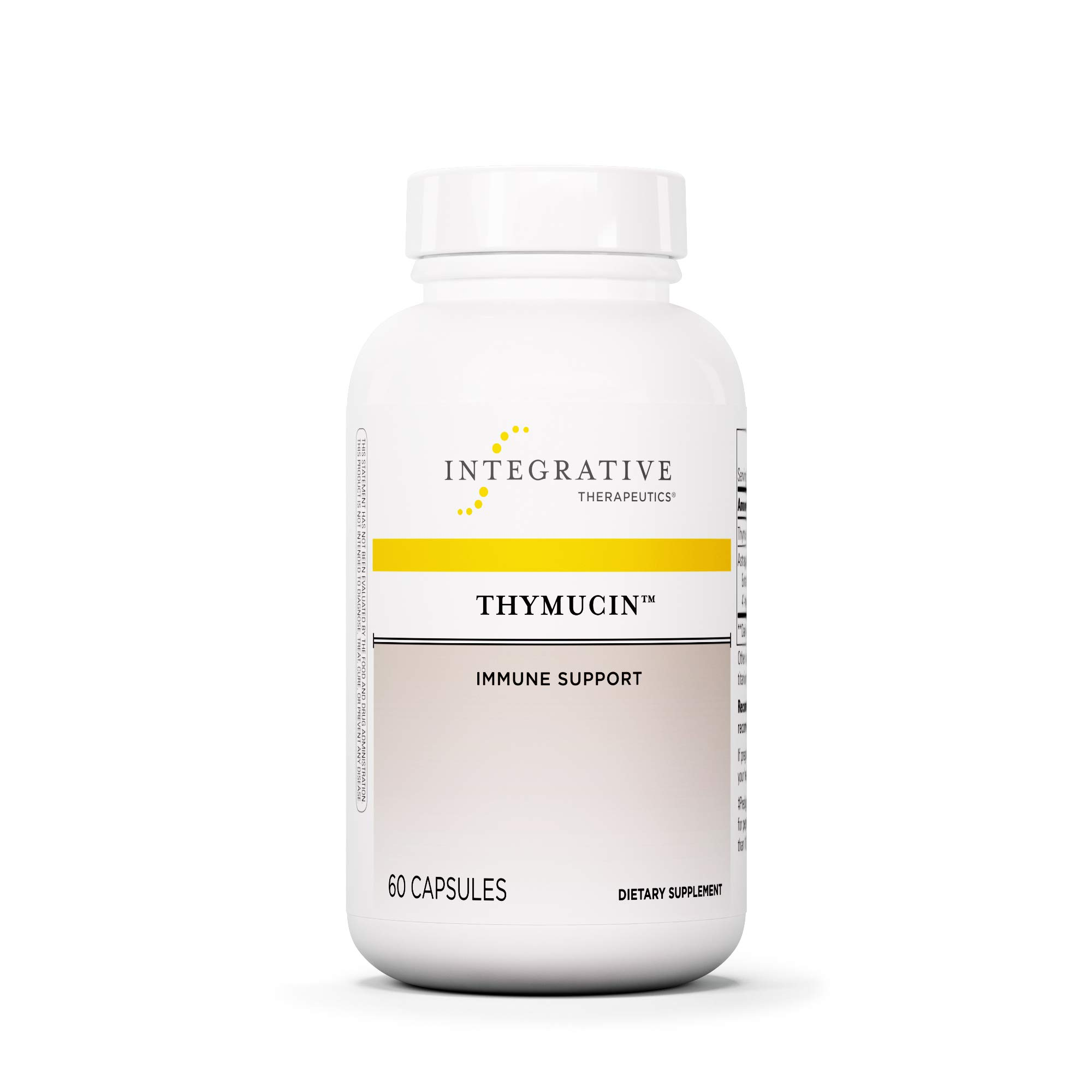 Integrative Therapeutics - Thymucin - Thymus and Immune System Support - 60 Capsules