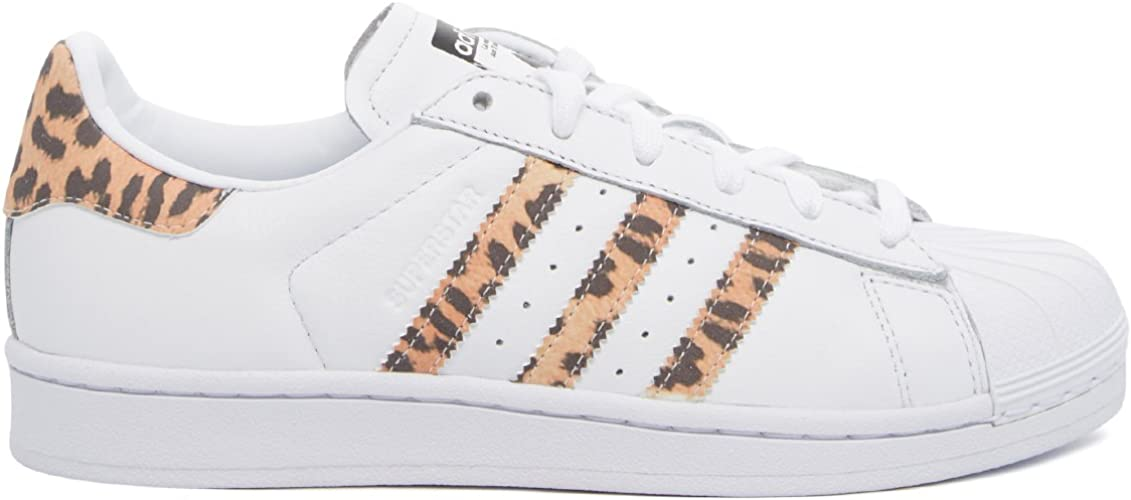 adidas Superstar W Basket Mode Femme Blanc, 36 2/3