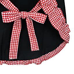 Rbenxia Women\'s Apron with Pockets Adjustable Bib Apron with Pockets Extra Long Ties