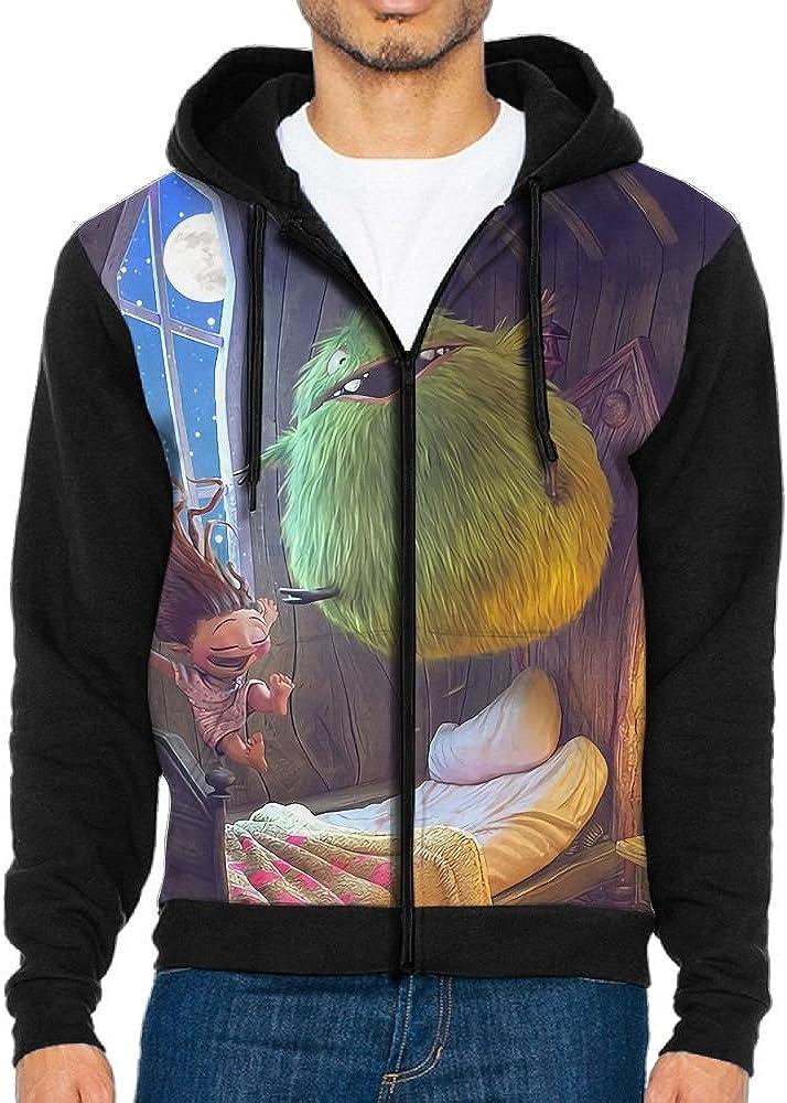 Hoodies Sweaters Men Long Sleeve Happy Girl Printed Pullover Hooded Sweatshirt With Pockets
