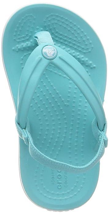 b530d043765c Crocs Unisex Kids  Crocband Strap Flip K Flops  Amazon.co.uk  Shoes ...