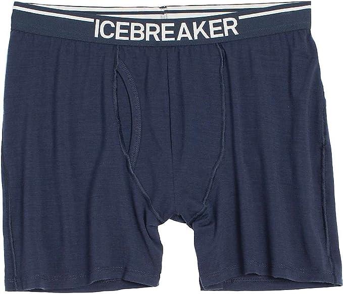Icebreaker Merino Anatomica Merino Wool Long Boxers