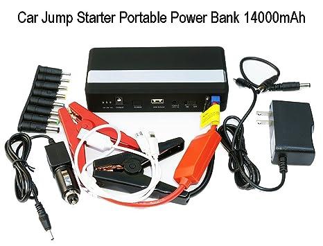 Banco de alimentación externa portátil para coche Jump Starter br-ko5, 14000 mAh (