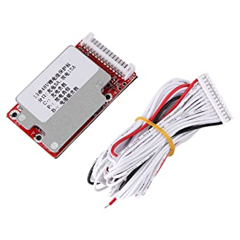 Audio & Video Replacement Parts 3s-17s Lithium Li-ion Battery Led Test Board Protection Board Cable Wiring 10s 36v 13s 48v 16s 60v Bms Line Connector Detection Accessories & Parts
