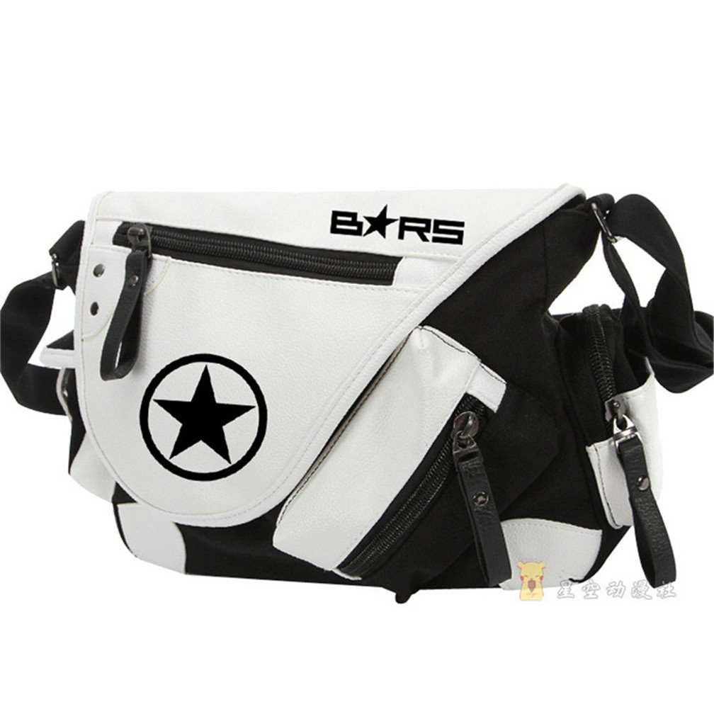 YOYOSHome Anime Black Rock Shooter Cosplay Handbag Cross-body Bag Messenger Bag Tote Bag Shoulder Bag