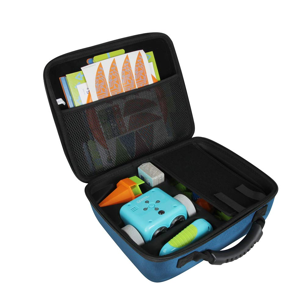 HERMIT SHELL Hermitshell Hard Travel Case for Learning Resources Botley The Coding Robot Activity Set (Blue)