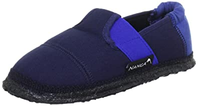 Nanga Klette 06, Jungen Flache Hausschuhe, Blau (38), 20 EU