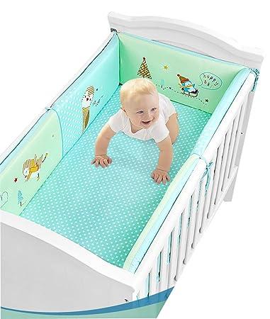 Baby Bedding Cartoon Crib Bumper Guards Cotton Liner Multifunctional Leg Pillow Stroller Cushion For Baby Sleep Safety