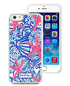 Lilly Pulitzer 26 White iPhone 6 4.7 Inch Rubber TPU Phone Cover Case