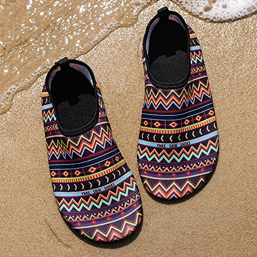 Womens Yoga Shoes Sports ZHENZHONG G Dry Quick Sneakers Dive Swim Mens Stripe Aqua Beach Surf Shoes Water Water 4OWxn5AW