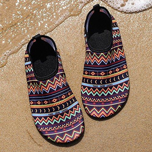 Dry Womens G Sports Water Mens Surf Shoes Dive Shoes ZHENZHONG Quick Stripe Swim Sneakers Water Beach Aqua Yoga Xwq8AS
