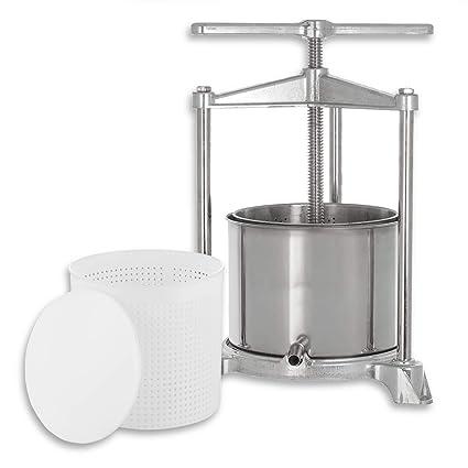 kaese-selber.de - Prensa para Queso (Aluminio y Acero ...