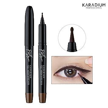Amazon Com Karadium 1 5 Round Tip Full Moon Dot Eyeliner 1g