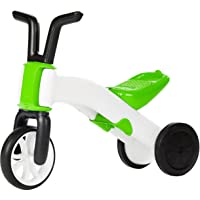 Chillafish Bunzi Tricycle, Draisienne et Vélo Sans Pédale 2 en 1, Vert