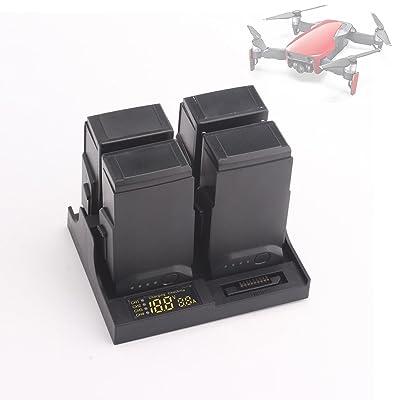 DroneStart Mavic Air Chargeur de batterie 4 en 1 Multi batterie Intelligent Hub de charge pour DJI Mavic AIR Quadcopter