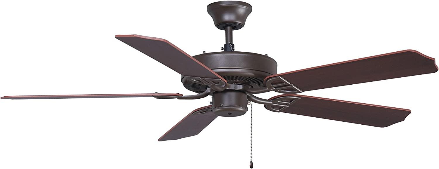 Fanimation Aire Décor - 52 inch - Oil-Rubbed Bronze - 220v with Pull-Chain - BP200OB1-220