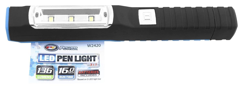 Performance Tool W2420 136 Lumen Multi Function 3 1 LED Penlight Sold as 1 Flashlight