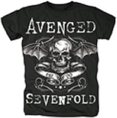 Avenged Sevenfold banda – Camiseta deathbat Banner negro ...