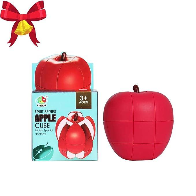 Fruit Easy Magic Cube 3x3x3 Professionelles Speed Twist Puzzle Zappeln