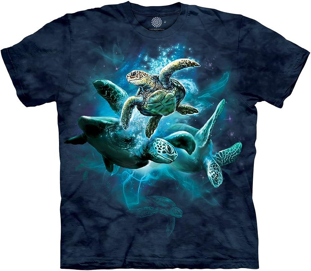 The Mountain Men's Sea Turtle Collage T-Shirt