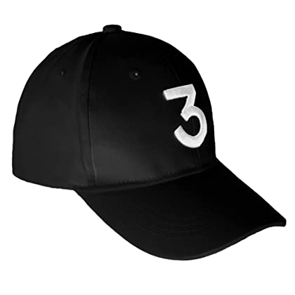 Embroider Hats Number 3 Cool Baseball Caps d98fe966f428