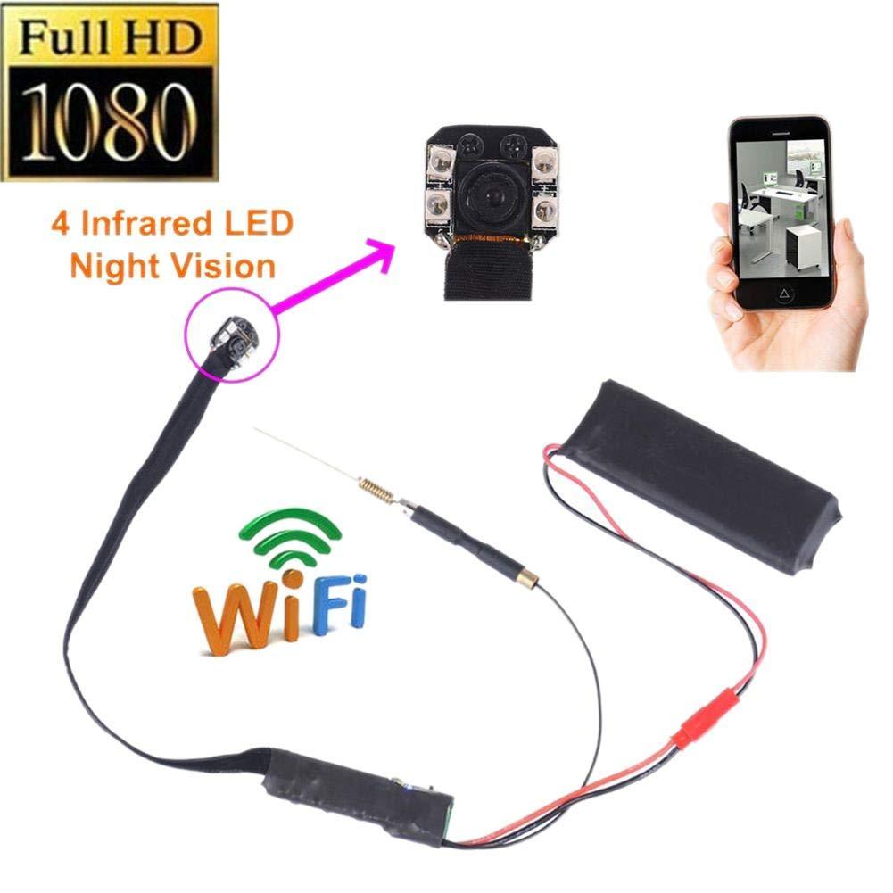 Fivechoice Mini Cámara, HD 1080P WiFi cámara espía inalámbrica ...