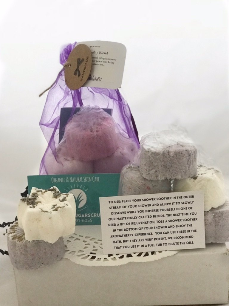 Extra Strength Stress and Anxiety Relief Shower Soother (5-Pack) - Tranquility Blend …