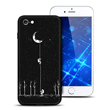 coque iphone 8 lune