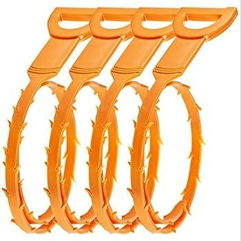 Cysj 20 Inch Bathroom Drain Hair Clog Remover Drain Snake